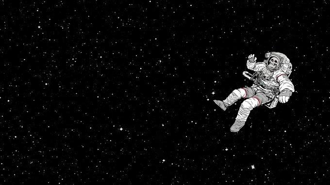 Astronauta Perdido no Espaço Infinito
