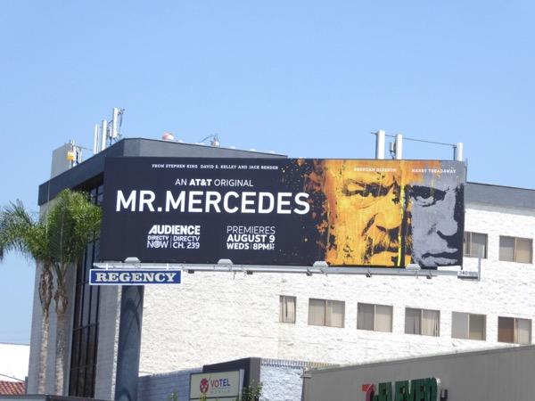 Mr Mercedes series billboard