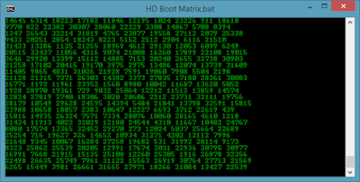 HD Boot matrix effect
