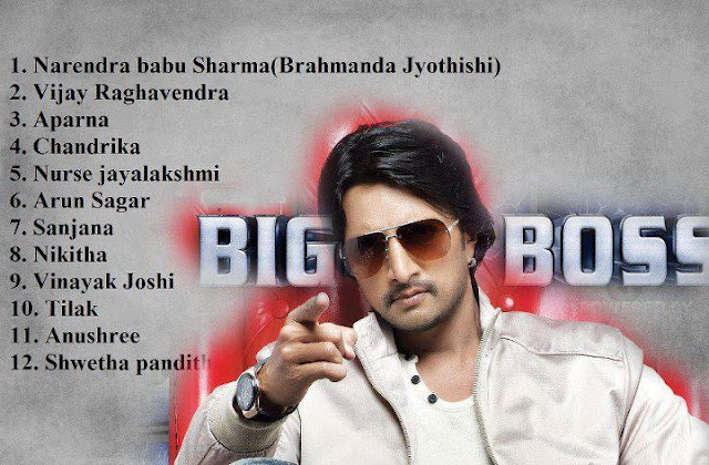 Final Contestant of BIGG BOSS Kannada version