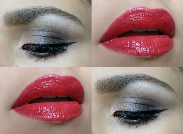 Maquiagem Clássica: Batom Vermelho e Olho Esfumado Chumbo