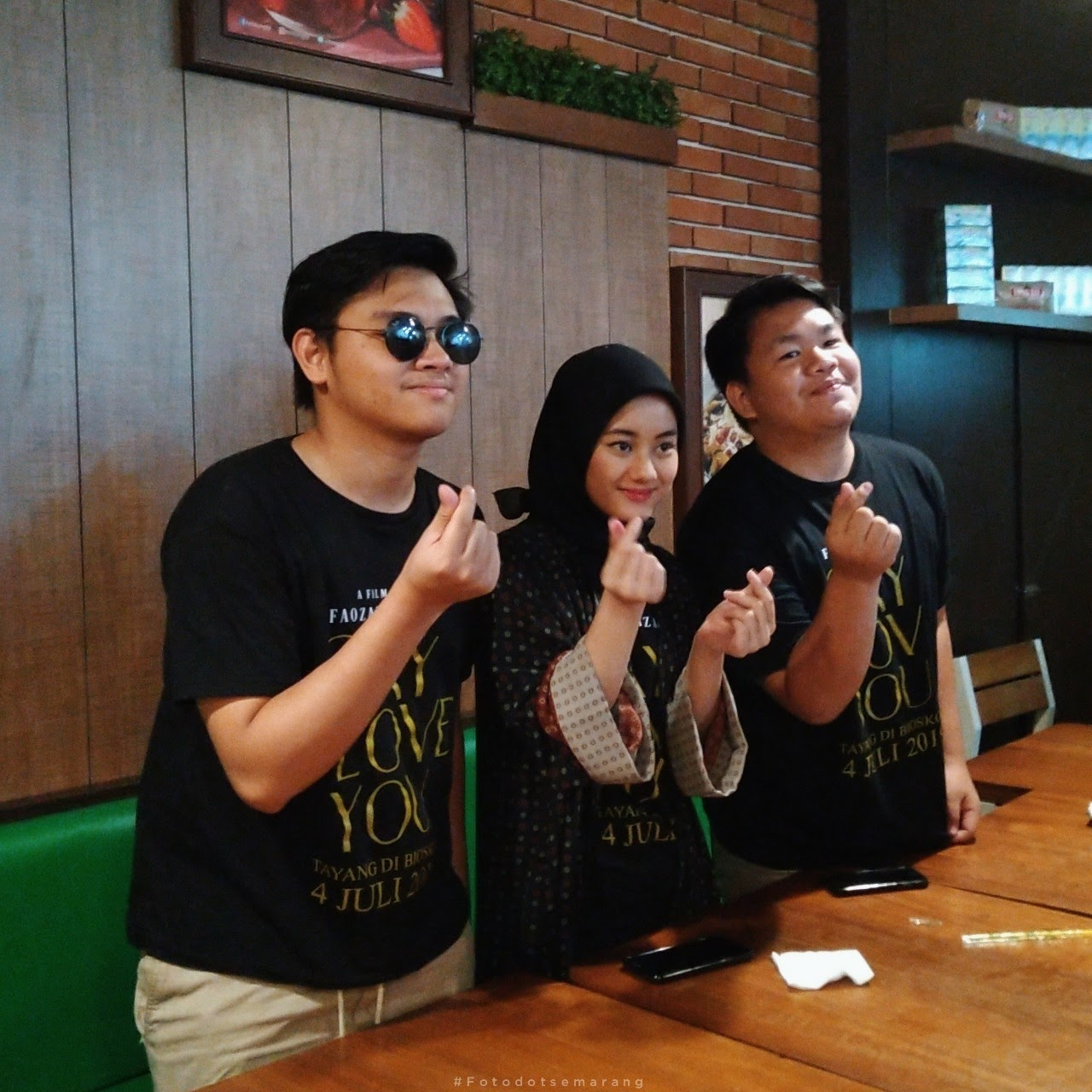 Gala Premire di Semarang, Film Say I Love You Bawa 3 Pemain Sapa Penonton