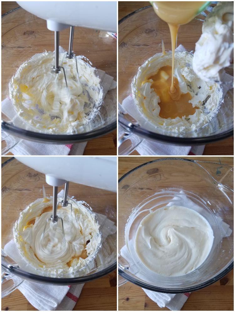Cómo hacer cheesecake sin horno: preparación de la mezcla de queso crema