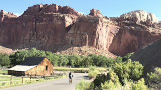 Capitol Reef National Park Scenic Drive and Capitol Gorge Cycling