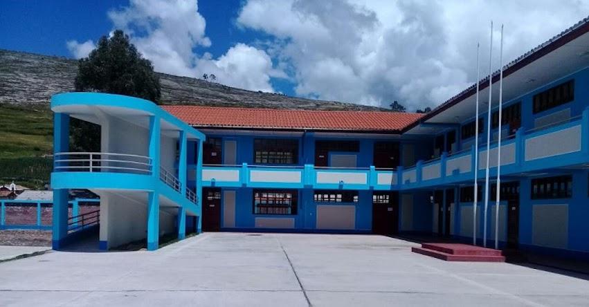 PRONIED: En Junín culminan obras en colegio de nivel primario y queda listo para ser entregado a su comunidad - www.pronied.gob.pe
