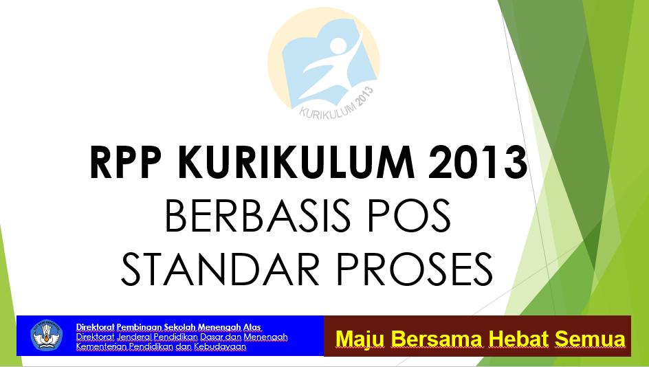 RPP PAI Kelas Kelas XI Semester 1 Terbaru (Berbasis POS Standar Proses)