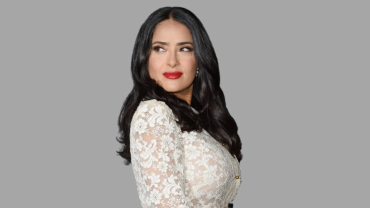 Hollywood actress Salma Hayek find her inner beauty in Hindu Goddess Lakshmi. who represent wealth, fortune, love, beauty and much more.