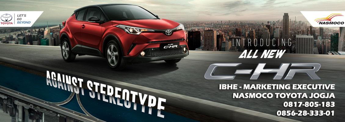 Toyota Resmi Rilis All New C-HR 2018
