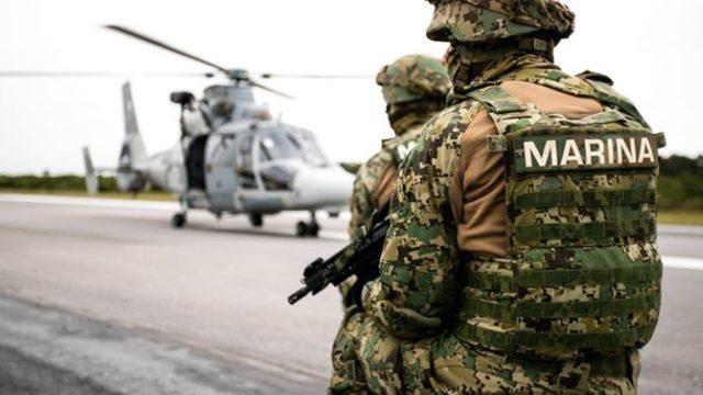 Envían a Sonora a 40 marinos para reforzar seguridad y calmar al Narco