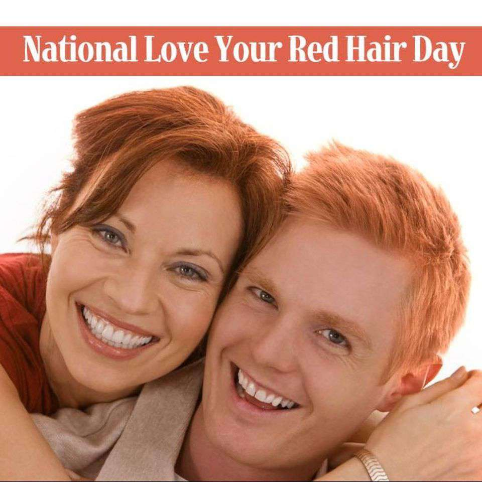 National Love Your Red Hair Day Wishes pics free download