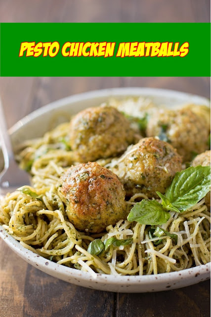 #Pesto #Chicken #Meatballs