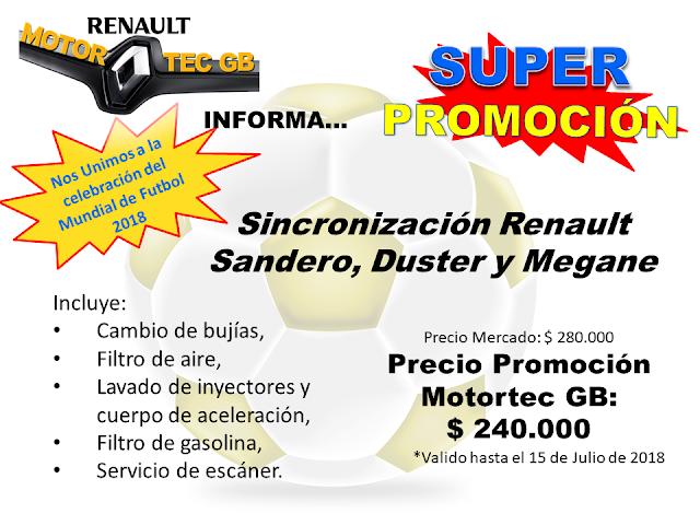 Promocion Sincronizacion Renault