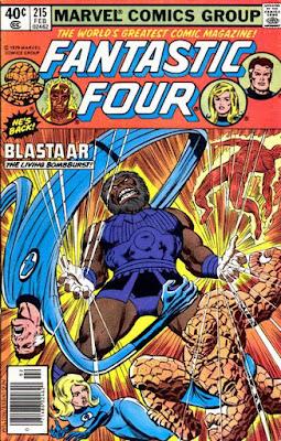 Fantastic Four #215, Blastaar