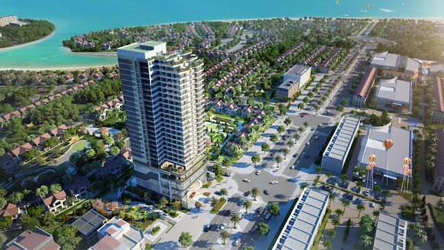 Phối cảnh dự án Condotel Eastin Phát Linh