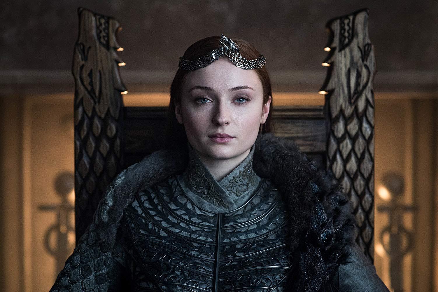 Sophie Turner en Game of Thrones