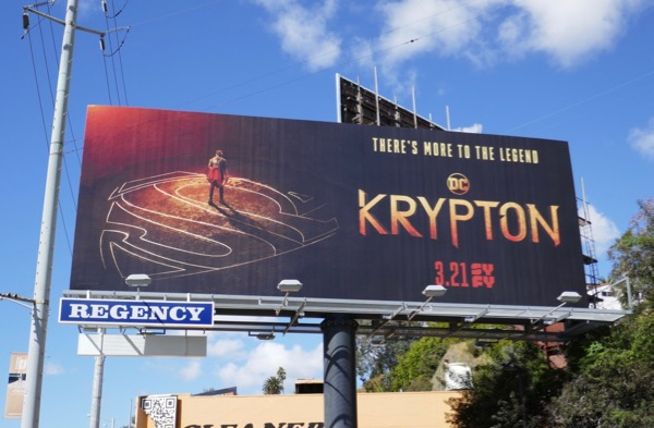 Krypton series premiere billboard