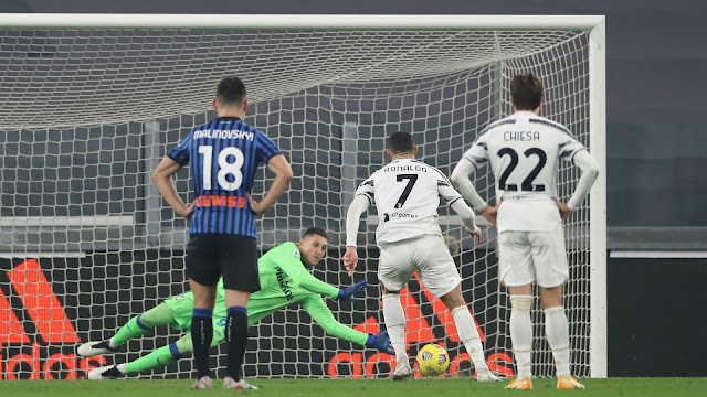 مشاهدة ملخص واهداف مباراة يوفنتوس وأتلانتا (1-1) في الدوري الإيطالي