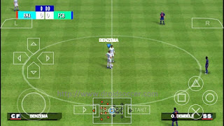 Download PES Jogress v3 ISO PSP Android