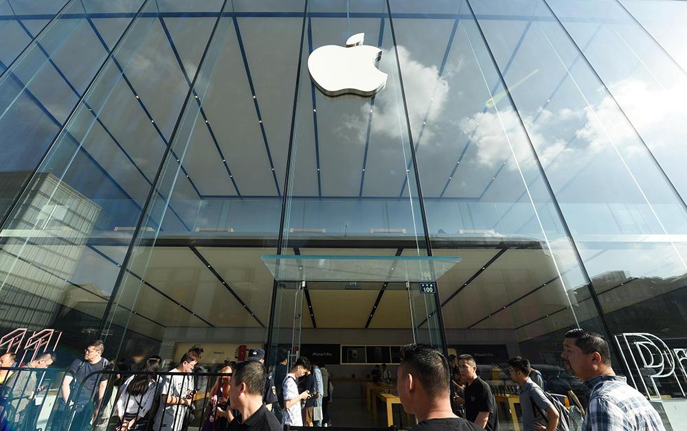 china apple store-virus-spreads