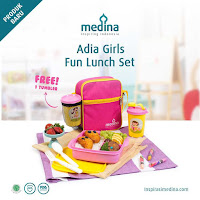 Dusdusan Adia Girls Fun Lunch Set ANDHIMIND