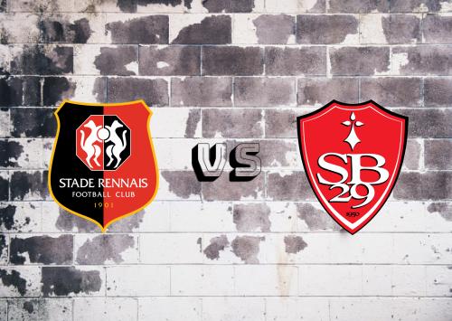 Rennes vs Brest  Resumen