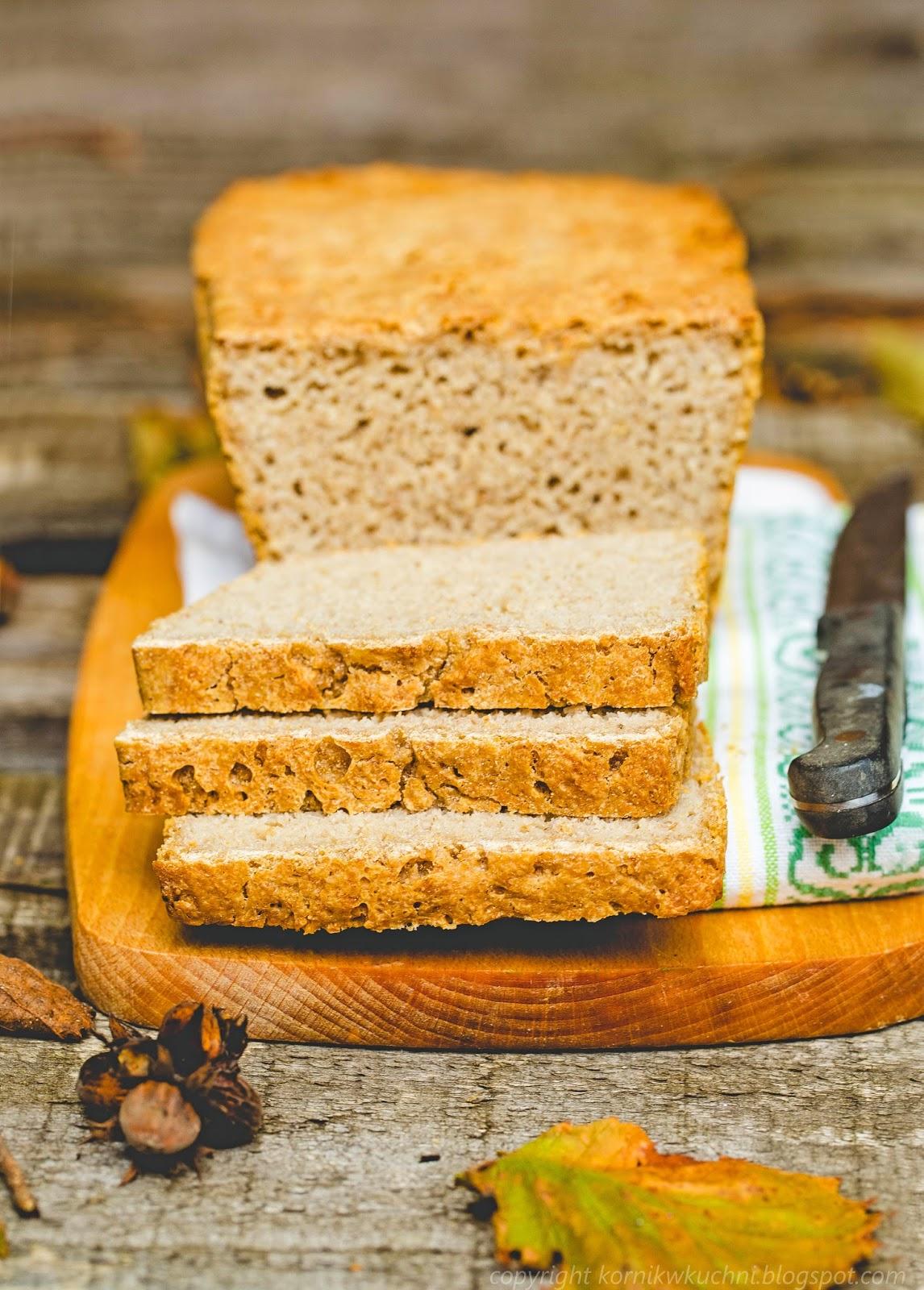 Chleb z płatkami owsianymi na zakwasie