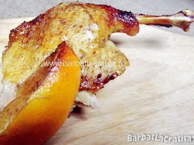 Pulpa de rata la cuptor cu portocale (imaginea retetei)