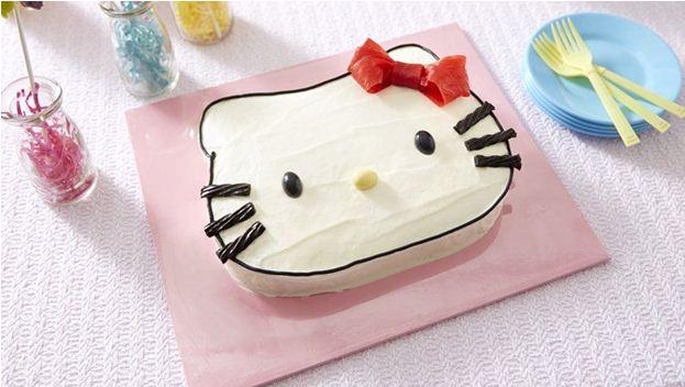 foto kue ulang tahun Hello Kitty