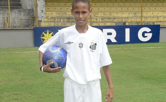 Neymar at Santos