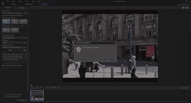 Screenshot CyberLink ColorDirector Ultra 8.0.2320.0 Full Version