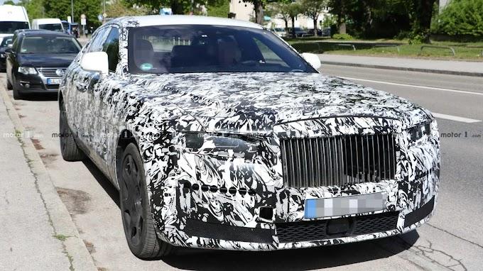 The next gen of Rolls Royce Ghost 2021 (spy photo)