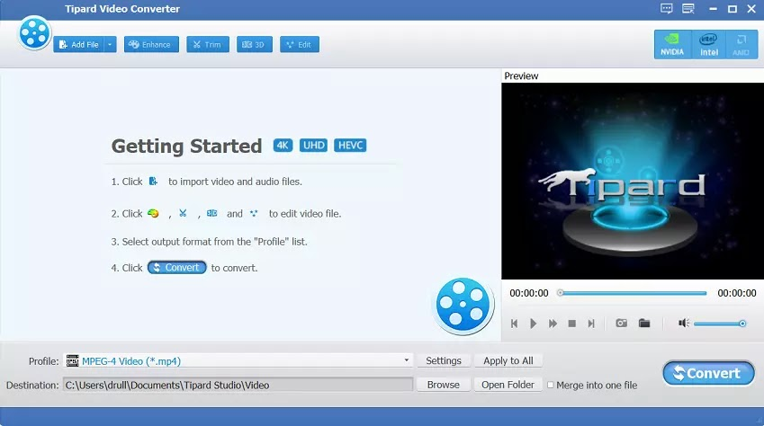 Tipard Video Dönüştürücü