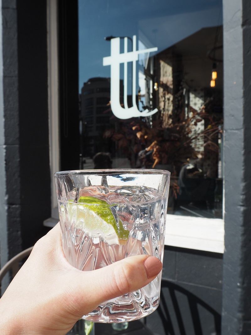 Leith Gin and tonic at Toast