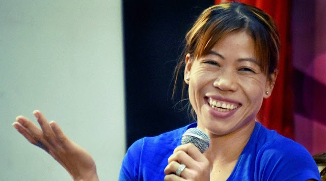 Mary Kom Imposed Golden Punch, Won Indian Open title