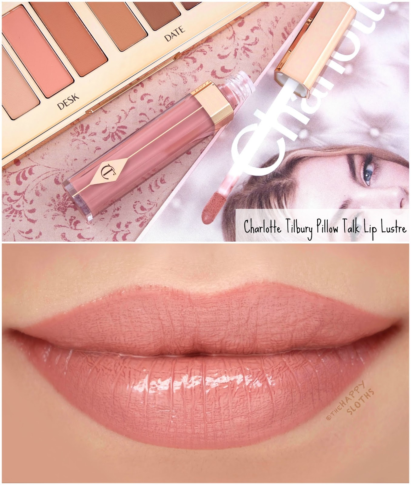 Charlotte Tilbury | Pillow Talk Lip Lustre: Review and Swatches