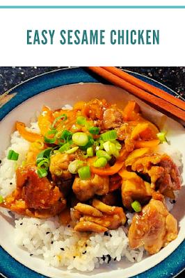 Easy Sesame Chicken Recipes