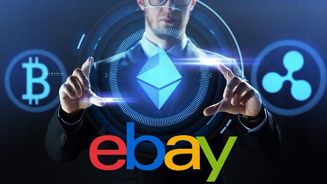 إيباي Ebay تسعى لقبول العملات الرقمية واستكشاف NTFS