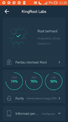 cara menghapus aplikasi bawaan android dengan king root