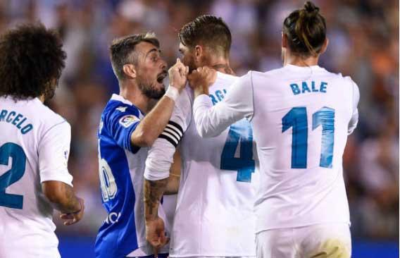 Choáng với lượng thẻ đỏ của Ramos tại La Liga