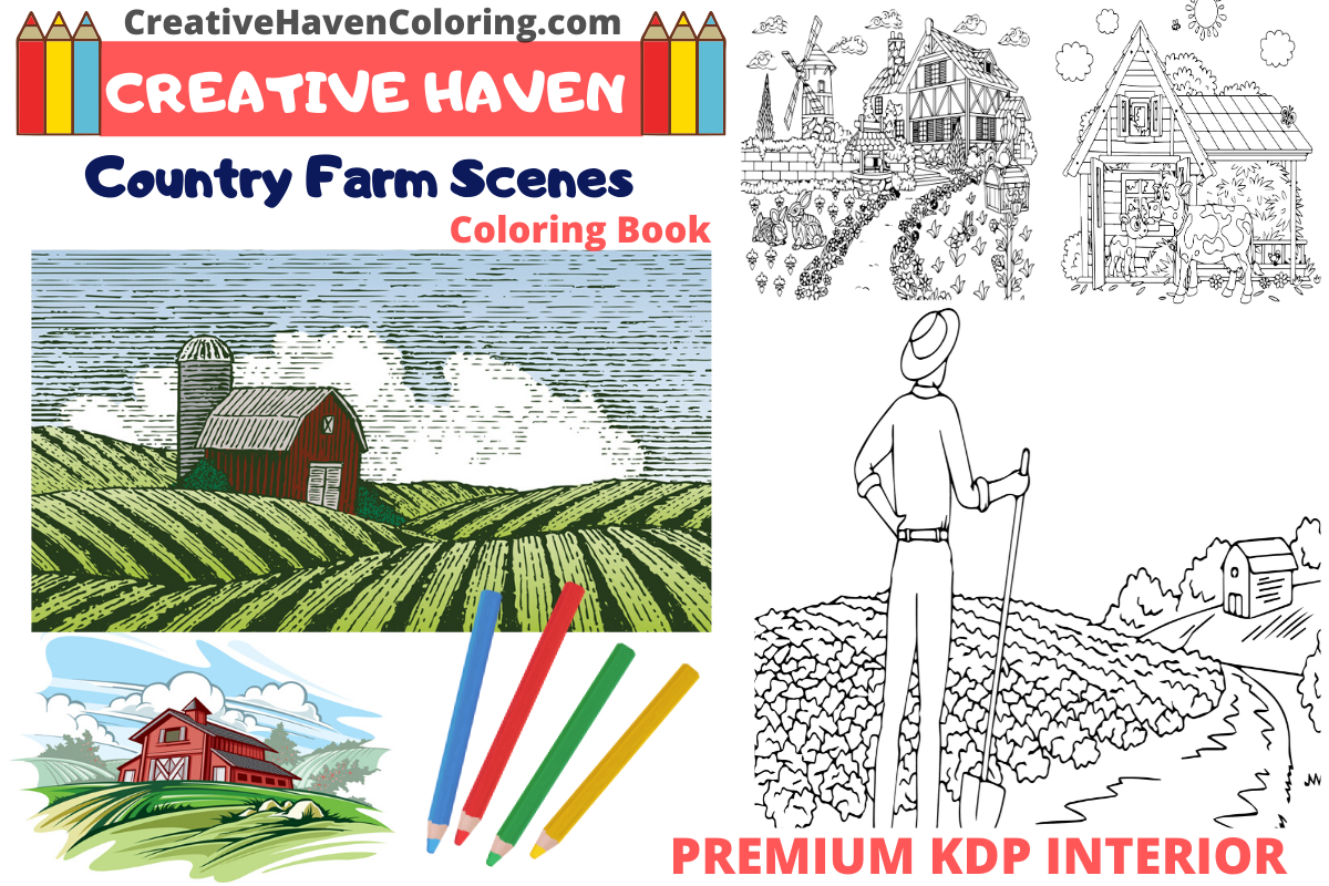 Farm Coloring Pages Free - Coloring Home | 800x1200