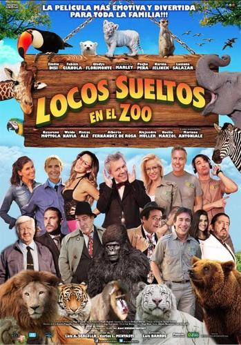 Locos sueltos en el zoo (2015) [DVDrip Latino] [Comedia]