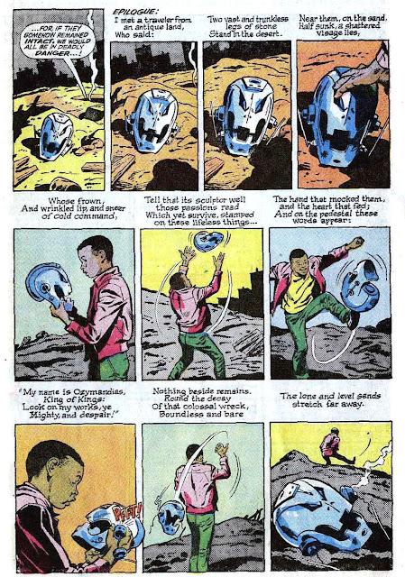 Avengers 57, 1968, John Buscema et Roy Thomas citant Ozymandias
