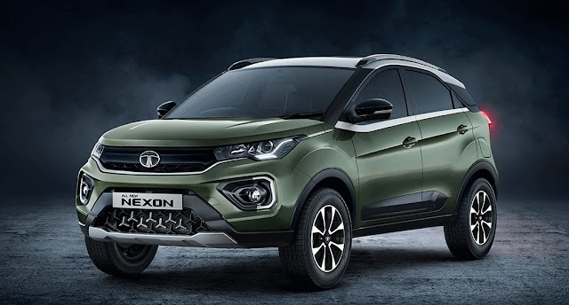 Tata nexon facelift launch in upcoming month.