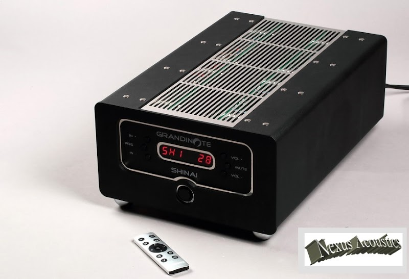 GRANDINOTE `SHINAI `  a FERRARI among Amplifiers