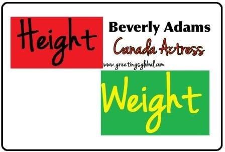 Beverly Adams height weight
