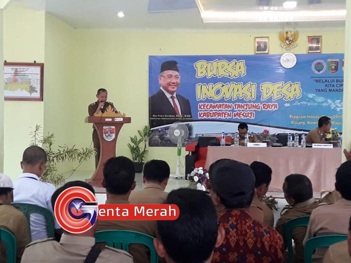 Tarkait Dana Desa,Kadis PMD Mesuji Meminta Kades Bersinergi Dengan Pendamping Desa