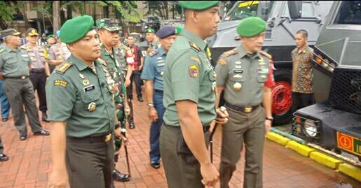 Pangdam l/BB Cek Kesiapan Pasukan Pam VVIV RI 2 Dalam Rangka Penutupan MTQ  Nasional ke XXll