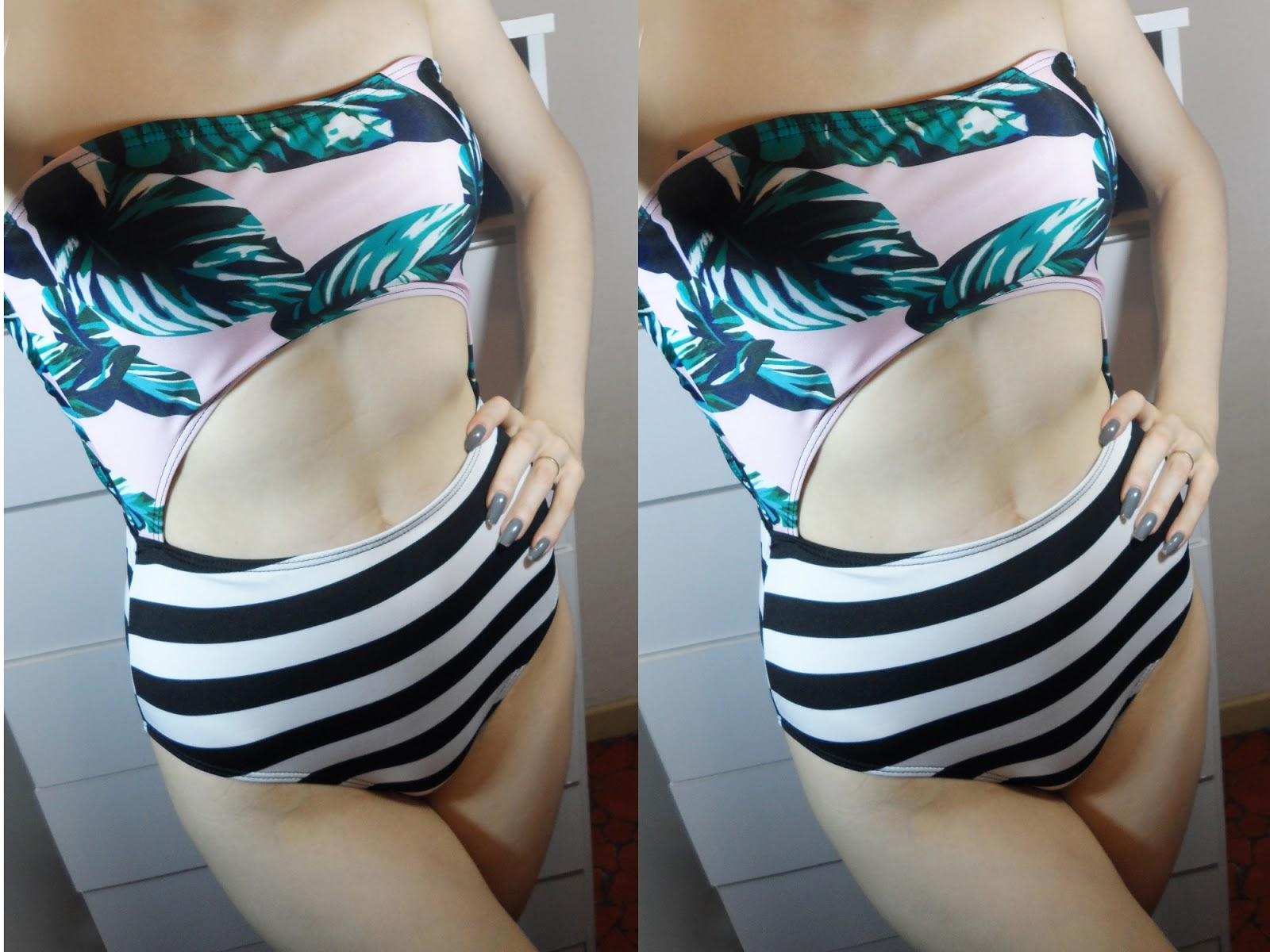 summer swimsuit monokini trend zaful blogger review try on haul liz breygel