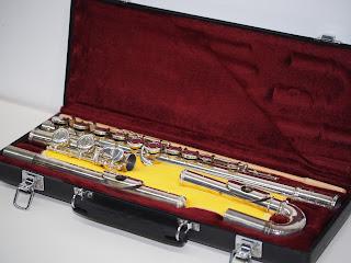 フルートをお買い取り致しました 京都市で楽器も買取や質預かりしています