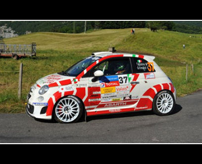 5ooblog Fiat 5oo New Abarth 500 Trofeo Rally Season 2011